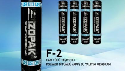 İzopak F-2 Fibrocam Bitümlü Su Yalıtım Membranı