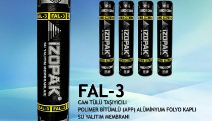 İzopak FAL-3 Alüminyum Folyo Kaplı Membran