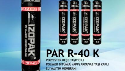 İzopak PAR-40K Polyester Keçe Taşıyıcılı Arduaz Taşı Kaplı (Kırmızı Membran)