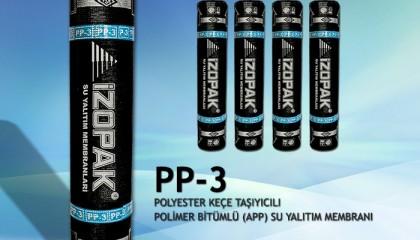 İzopak PP-3 Polyester Keçeli Su Yalıtım İzolasyon Membranı