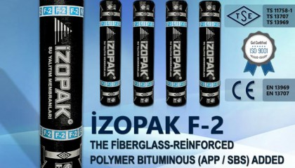 Izopak F-2 Fibro Glass Supported Bituminous Isolation Membrane