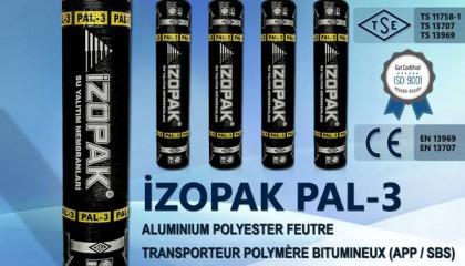 İzopak PAL-3 Alumınıum Polyester Feutre Transporteur Polymère Bıtumıneux