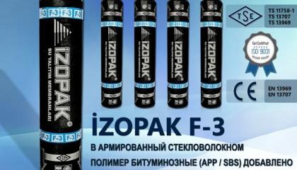 İzopak F-3 В Армированный Стекловолокном Полимер Битуминозные (App / Sbs)