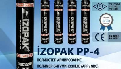 İzopak PP-4 Полиэстер Армирование Полимер Битуминозные (App / Sbs)