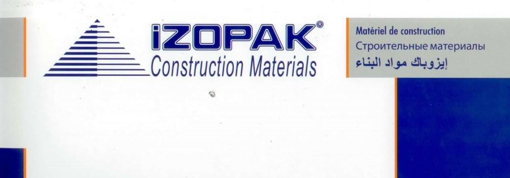 İzopak Construction Materials / 1.Page