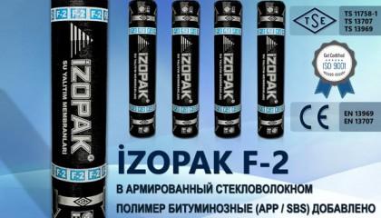 İzopak F-2 В Армированный Стекловолокном Полимер Битуминозные (App / Sbs)