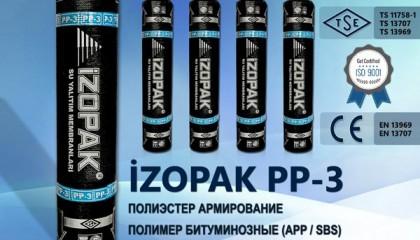 İzopak PP-3 Полиэстер Армирование Полимер Битуминозные (App / Sbs)