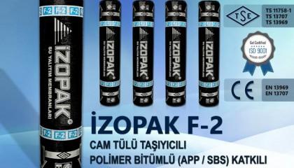 İzopak F-2 Cam Tülü Taşıyıcılı Polimer Bitümlü (App / Sbs) Katkılı