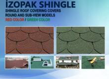 İzopak Shingle Roof Coating (Red / Green)
